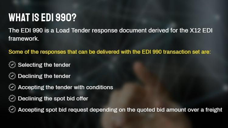 EDI 990