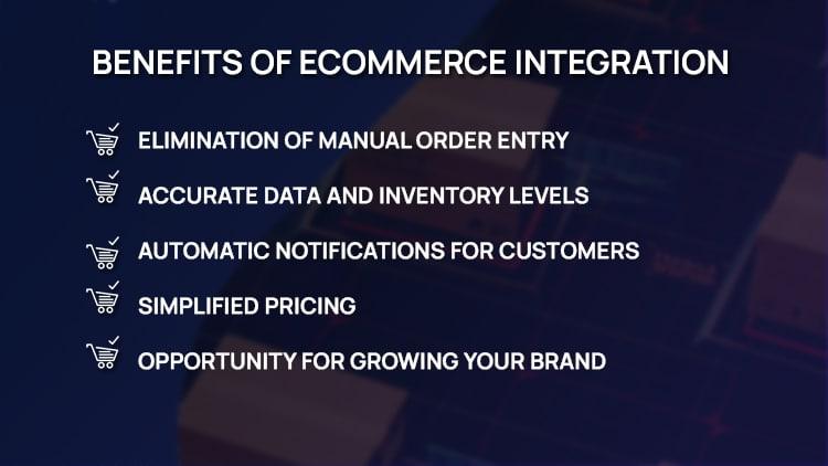 Benefits of eCommerce Integration