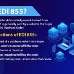 what is edi 855